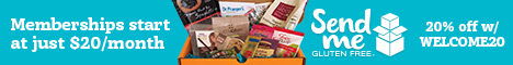 Send Me Gluten Free: Gluten Free Subscription Box