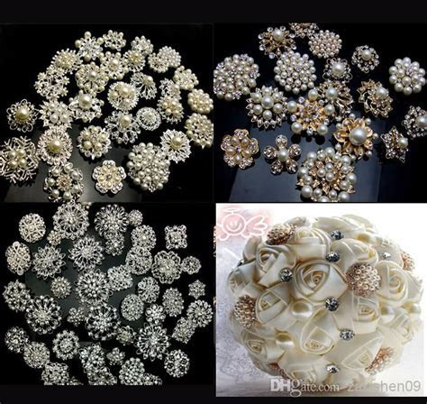 Wholesale Brooches   Buy 20P SILVER / GOLD X Mixed Bulk
