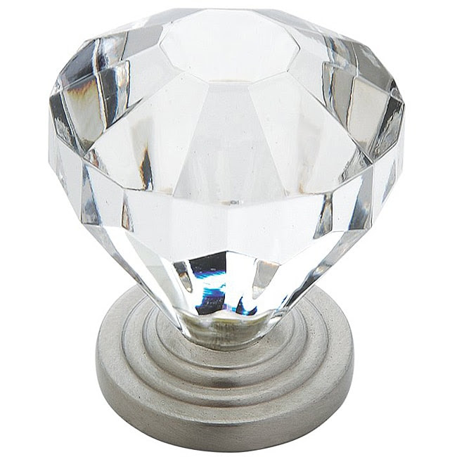Amerock 1.375-inch Crystal-look Cabinet Knob (Pack of 5 ...