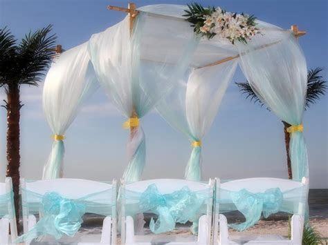Aqua Beach Wedding Theme   Suncoast WeddingsSuncoast Weddings