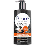 Biore Acne Clearing Cleanser, Charcoal - 6.77 fl oz
