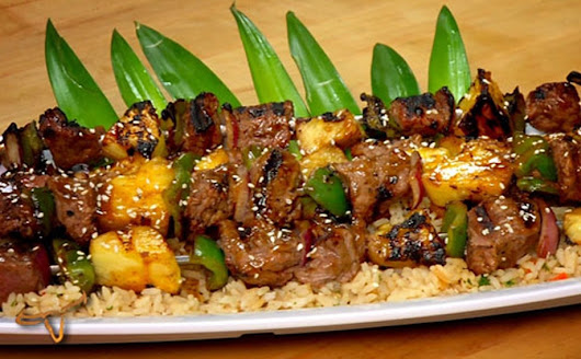 Classic Beef Teriyaki Skewers | Recipes | LongHorn Steakhouse