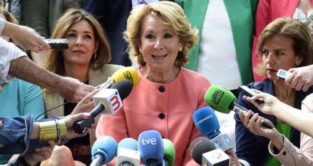 "Esperanza Aguirre: The former mayor of Madrid tweeted on Monday that ""with Islam"", Spain ""would not be free"". Photograph: Gerard Julien/AFP/Getty Images"