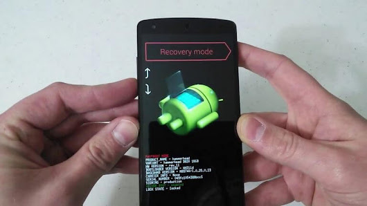 How to Enter Recovery Mode Google Nexus 4 [2018]