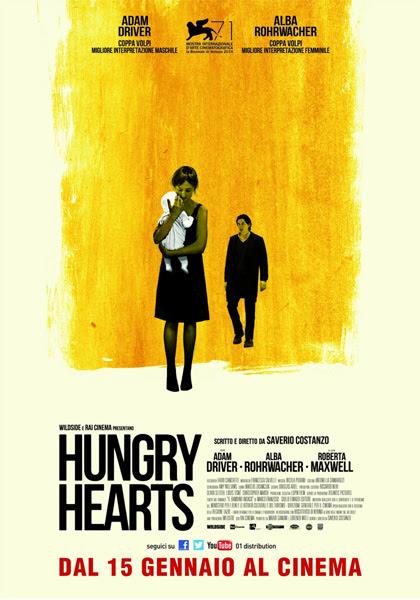Risultati immagini per hungry hearts poster