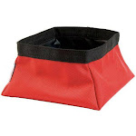 Pet Brands Colmpa0002 Expedition Collapsible Pet Bowl, Red, 2 Qt