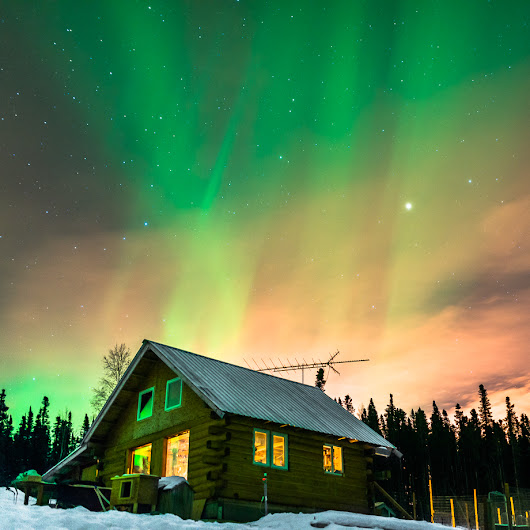 Watch an Electrifying Aurora Borealis Ignite the Alaskan Sky | The Creators Project