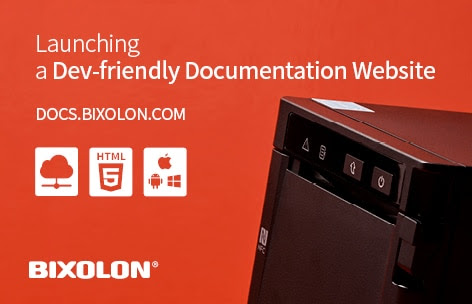 BIXOLON launches New Product Technology Documentation Website for the Developer Community -