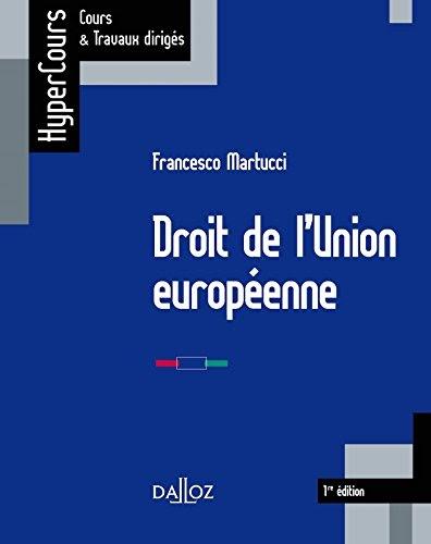 ✅Livres Gratuit Droit de l'Union européenne (HyperCours)   (B076Q9L8BD) Livre PDF en français