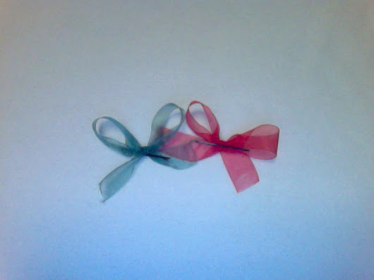 How to Make a Hair Bow out of Ribbon