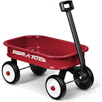 Radio Flyer Little Toy Wagon, Red, 13""