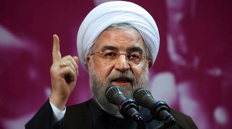 Iran nuclear deal, Hassan Rouhani, Saddam Hussein, US on Iran nuclear deal, Emmanuel Macron, world news, indian express news
