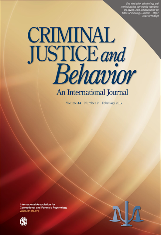 Appraising Risk for Intimate Partner Violence in a Police ContextCriminal Justice and Behavior - Sandy Jung, Karen Buro, 2017