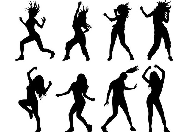 Zumba Dancer Silhouette at GetDrawings | Free download