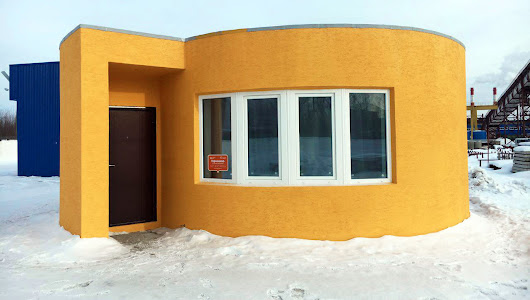 Easier than Legos - The First On-Site 3D Printed House Took Just 24 Hours | SnapMunk