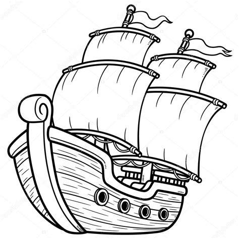 korsan gemisi stok vektoer  sararoom