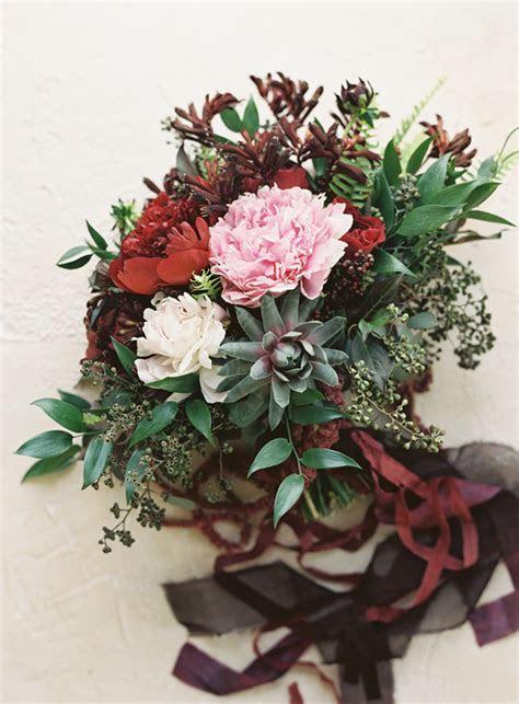 Elegant Garnet Wedding Ideas   Once Wed