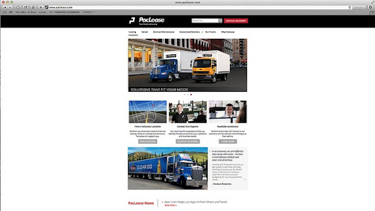 PacLease Optimizes Website for Mobile Use - TopNews - Fleet Management - TopNews - TruckingInfo.com