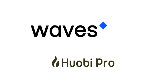 WAVES gets listed on crypto exchange Huobi