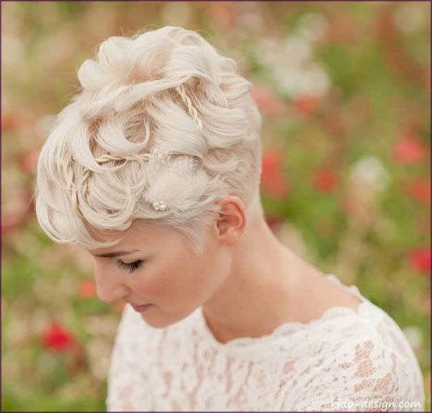 Braut Haarschmuck Kurze Haare Moderne Frisuren