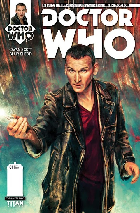 Doctor Who Ninth Doctor Comics