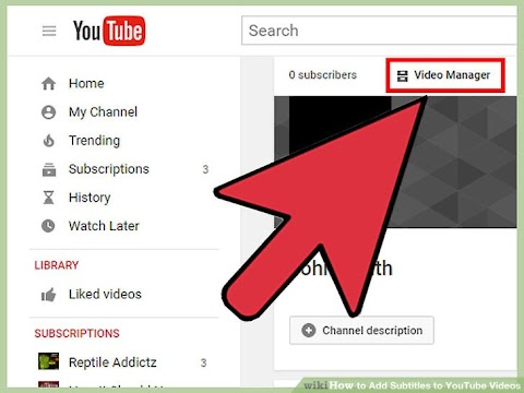 How To Add Captions To Youtube