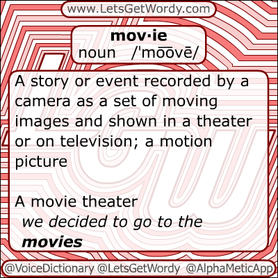 Movie 12/28/2012 GFX Definition of the Day