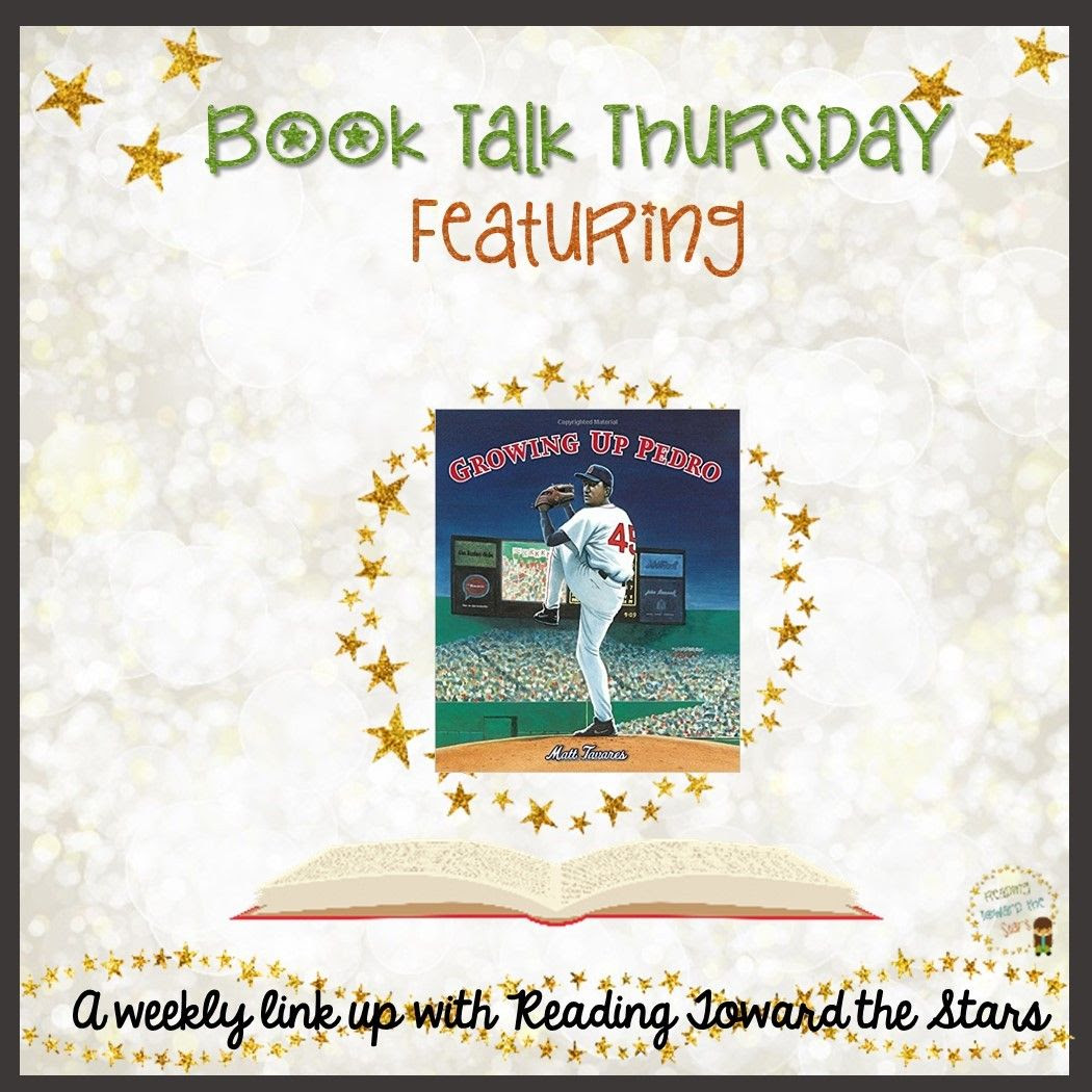 Growing Up Pedro tells the story of Pedro Martinez as he grows into a great baseball player. It also shows children how they can follow their dreams to be great at anything, no matter the circumstances.