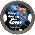 Road Pilot Steering Wheel Cover, Ultra Soft