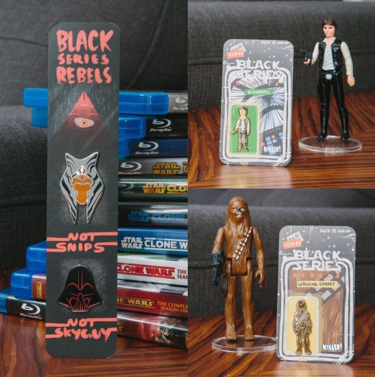 My Black Series Rebels Experience