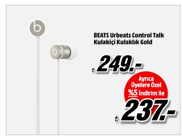 BEATS Urbeats Control Talk Kulakiçi Kulaklık Gold 237TL