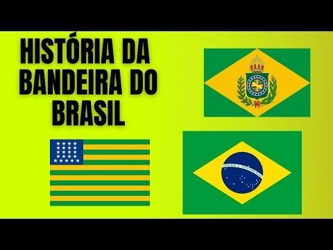 A história da bandeira do Brasil