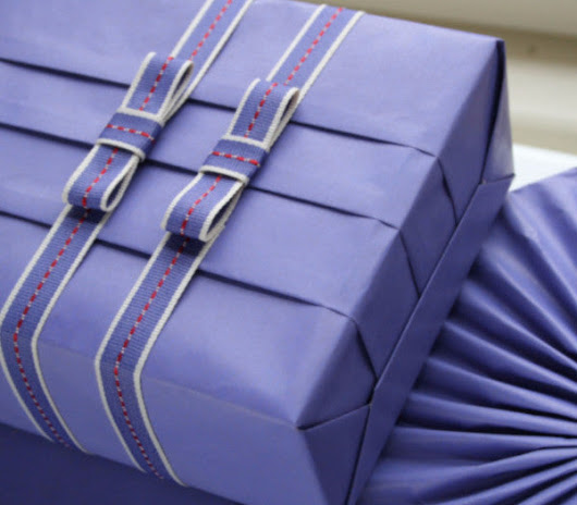 Gift Wrapping Masterclass / 21 Jan Sat 1300-1600 hrs – The General Company