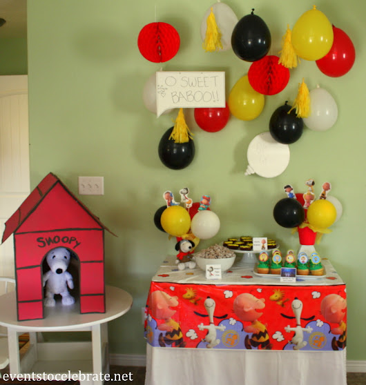 Peanuts Birthday Party Ideas - events to CELEBRATE!