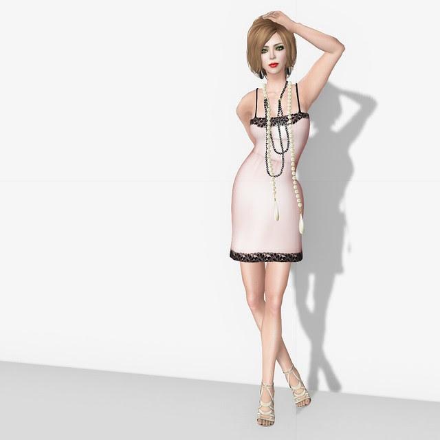 Subscribo Gift Mesh Dress