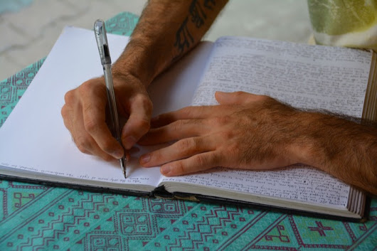Back To Basics – Why You Should Keep A Hand-Written Journal | Once Upon A Maritime
