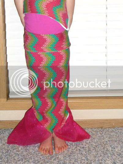 diy dress up mermaid tail sewing tutorial