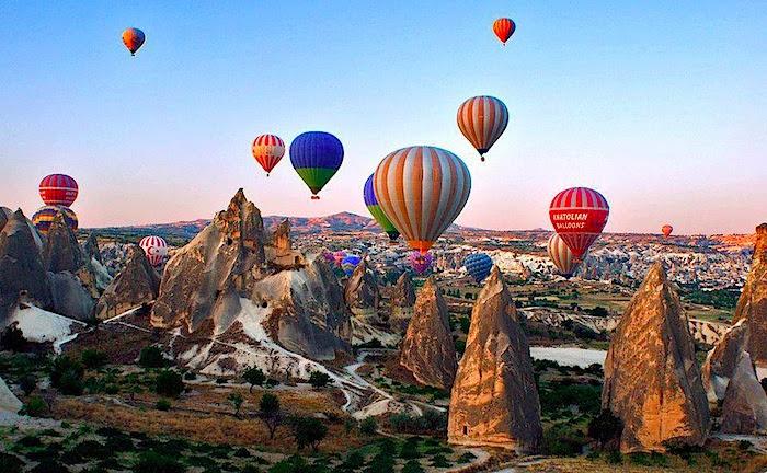 Image result for hot air balloon cappadocia