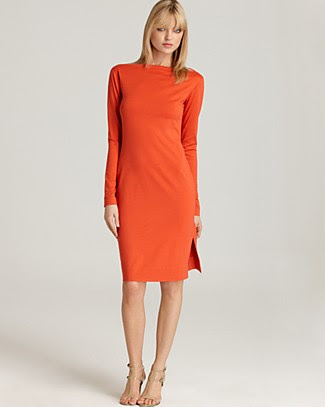 "DIANE von FURSTENBERG ""Bateau"" Long Sleeve Dress"