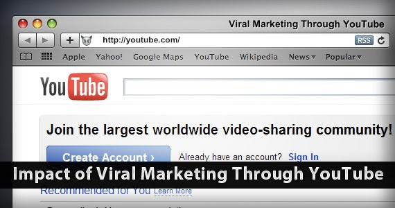 Youtube and the Impact of Viral Marketing