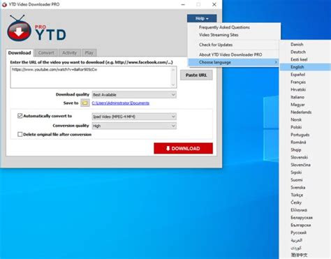 ytd video downloader pro  pre activated