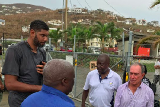 Hurricane Irma hits close to home for Tim Duncan. Here's how he's helped