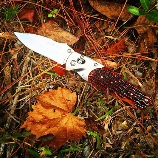 SOG Architect A01. Beautiful jigged bone brown handles and San Mai ste - SOG Knives blog