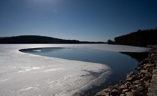 ice retreating