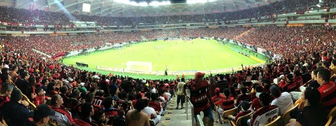 Arena Amazônia - Botafogo e Flamengo (Foto: Isabella Pina)