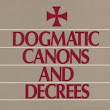 Dogmatic Canons and Decrees of the Council of Trent, Vatican Council I