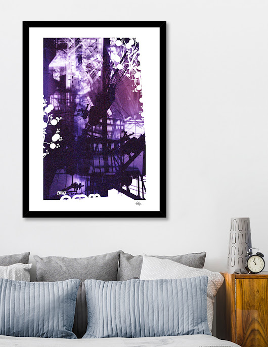 «Noise», Numbered Edition Affiches d'art by Jean-Marc EMY - From 20€ - Curioos