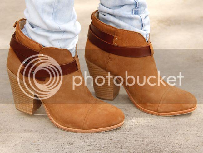 Rag & Bone Harrow boots camel nubuck suede