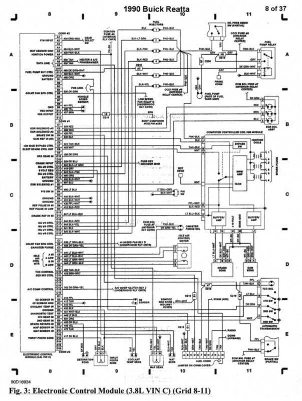 1995 Buick Lesabre Wiring Diagram