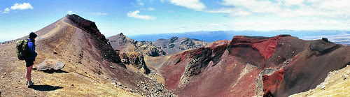 Red Crater Panorama
